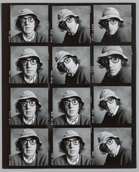Woody Allen, New York, 1972 | Irving Penn (American, 1917-2009)