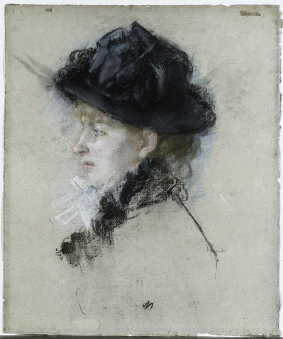 Mademoiselle Louise Riesener in a Hat | Cleveland Museum of Art