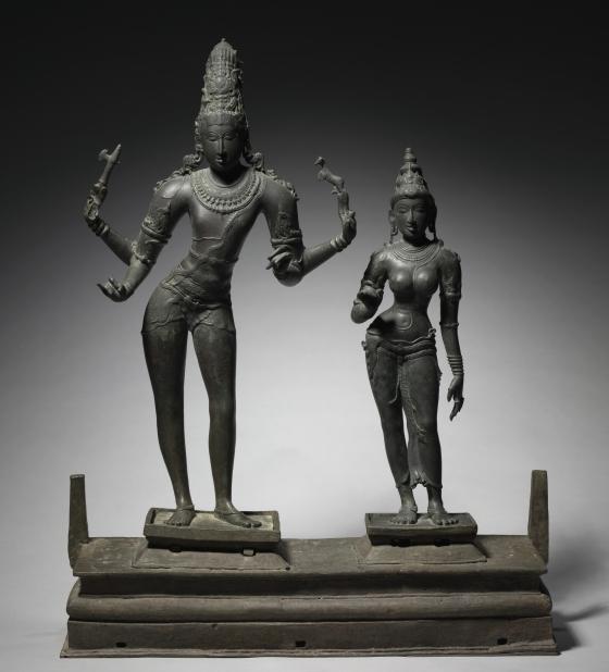 Shiva and Parvati | Cleveland Museum of Art